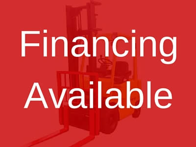 Forklifts Financing Available