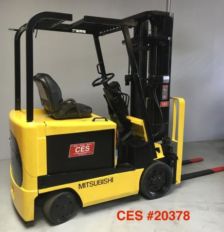 CES #20378 Mitsubishi Electric Forklift