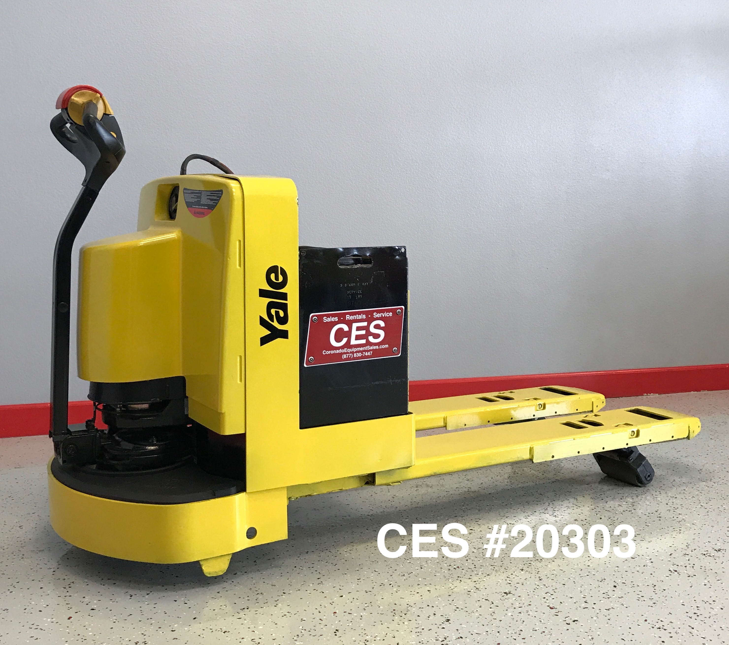 Ces 20303 yale mpw060 walkie pallet jack coronado for Motorized pallet jack rental