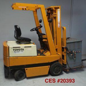 ddd _20393 Toyota Electric Forklift ddd