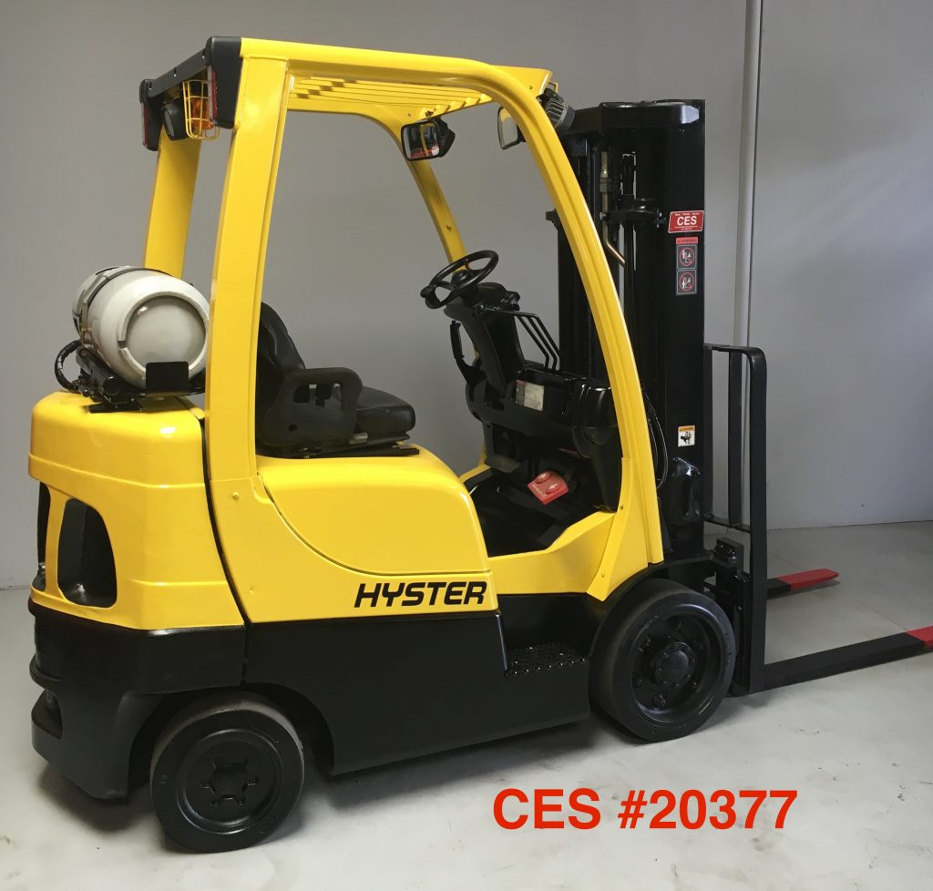 CES #20377 2008 Hyster S50FT Propane Forklift