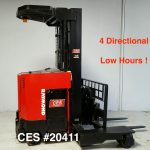 4 way directional forklift