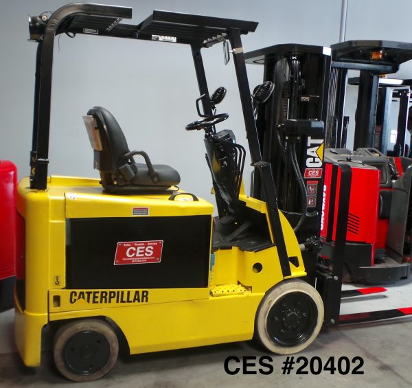 Cat EX5000-AC Electric Forklift