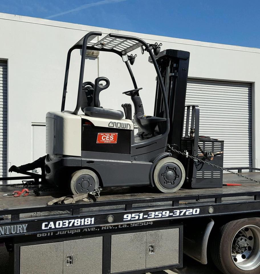 Used Electric Reach Forklifts in Anaheim, CA