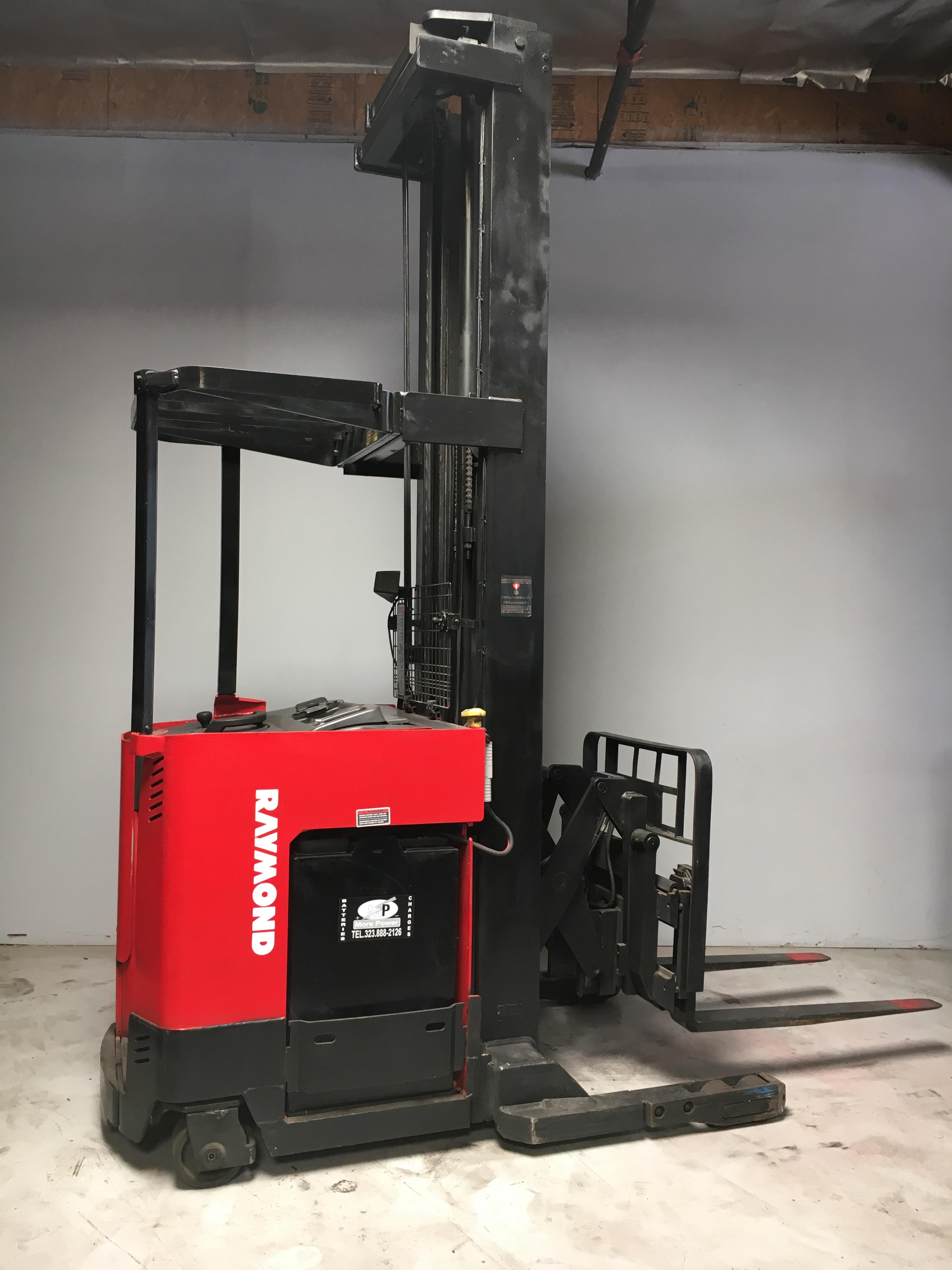 Ces 20291 Raymond Easi R40tt Reach Forklift 315