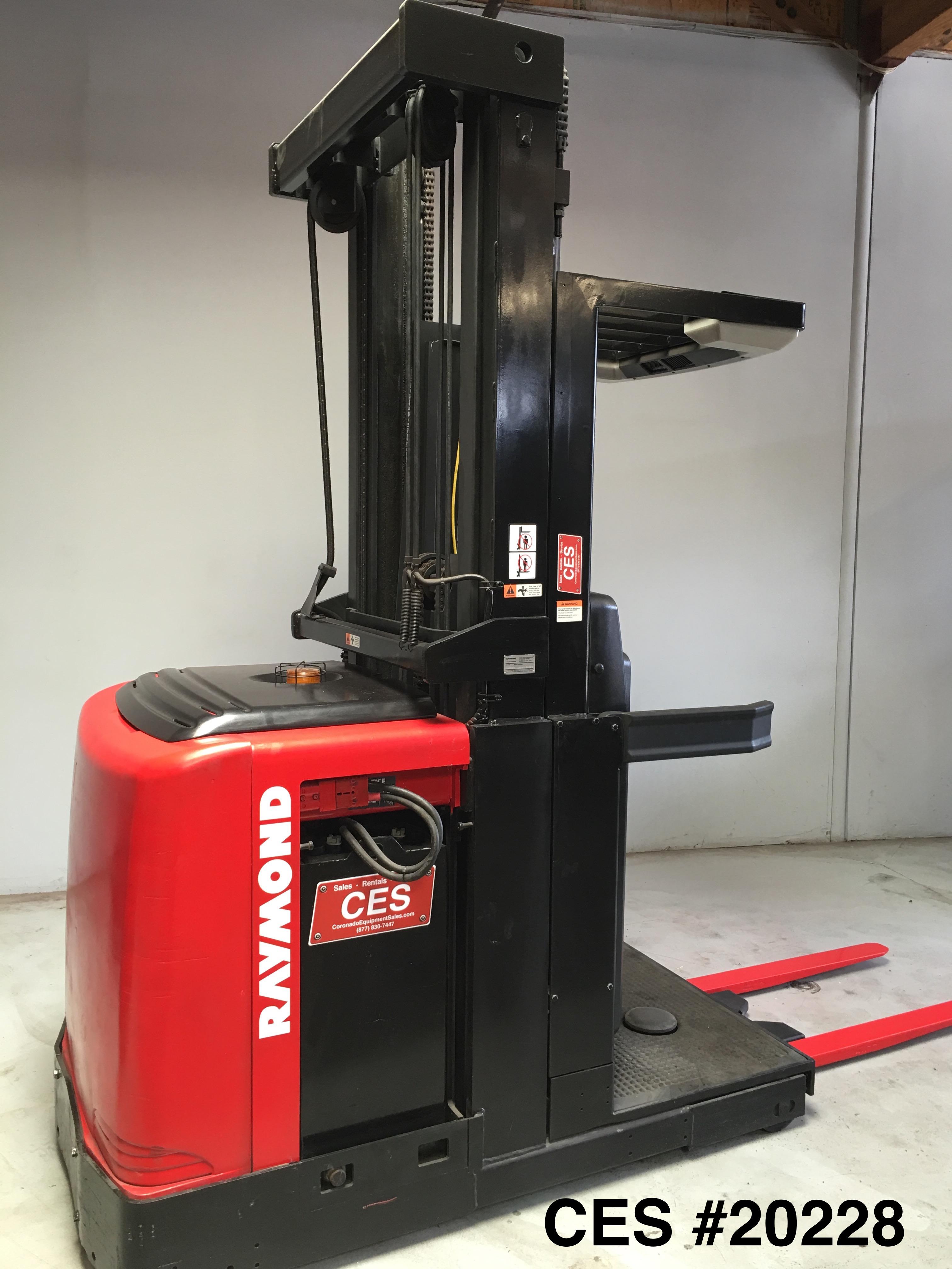 Ces 20228 Raymond Order Picker 240 Coronado Equipment Sales