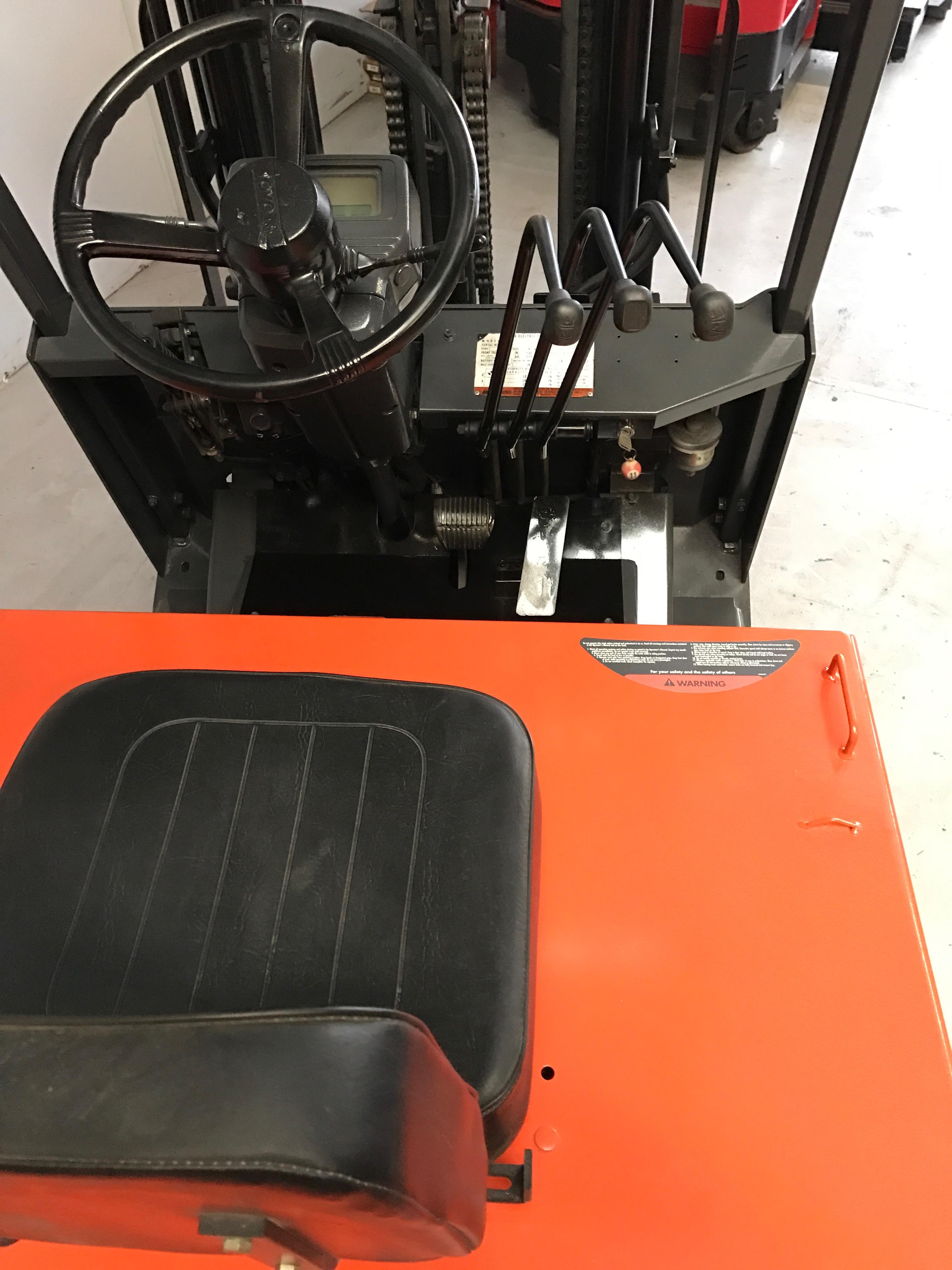 Ces 20444 Toyota 5fbcu20 Electric Forklift Coronado