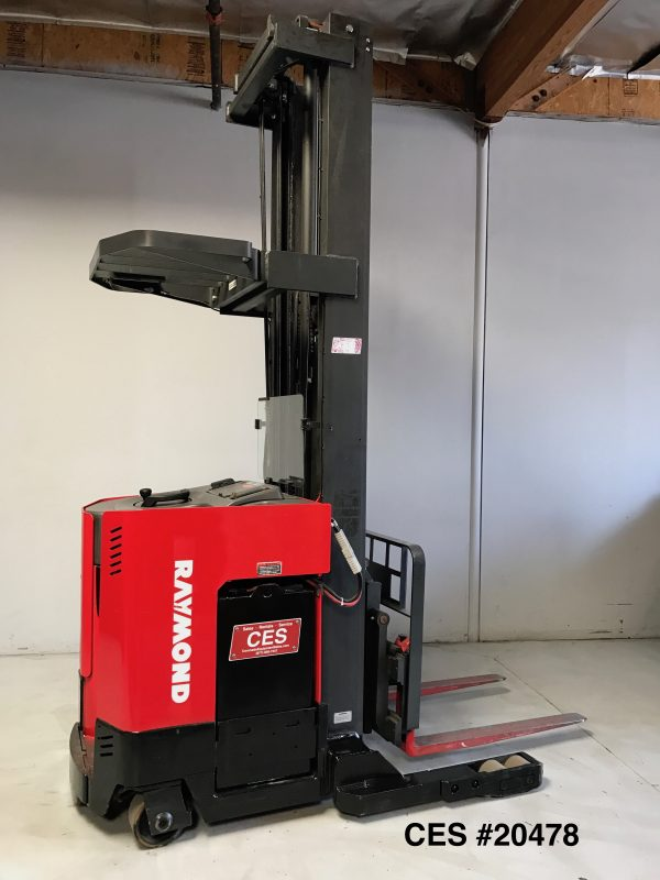 Used Reach Forklift 301""