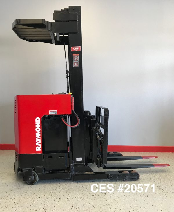 Used Raymond Reach Forklift