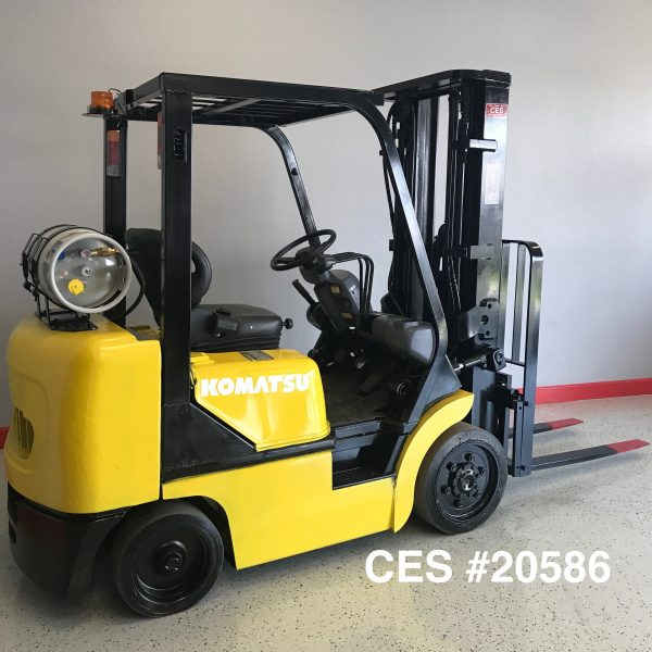 Used Komatsu Forklifts