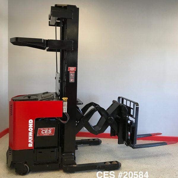 Ces 20584 Raymond Dr25tt Deep Reach Electric Forklift 253 Coronado Equipment Sales