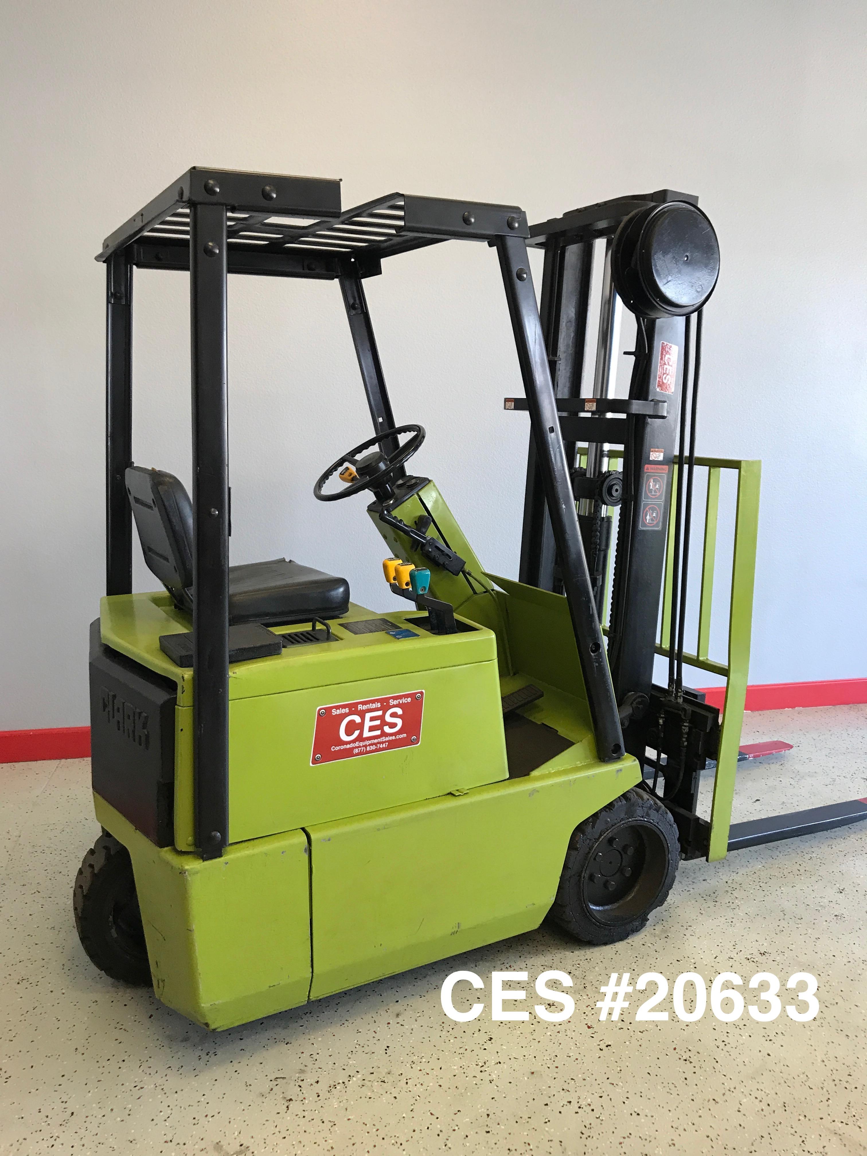 Ces  20381 2005 Raymond Easi R40tt Reach Forklift 211