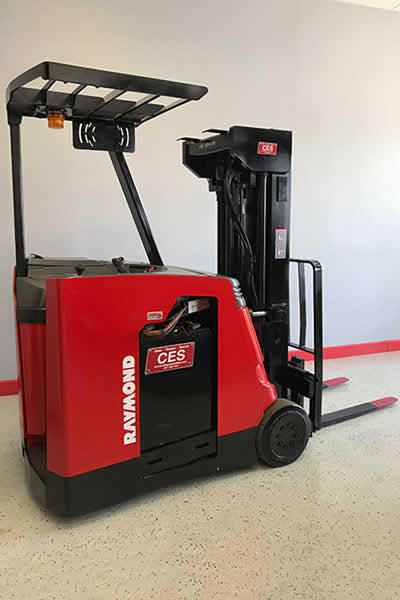 we offer new and used forklifts