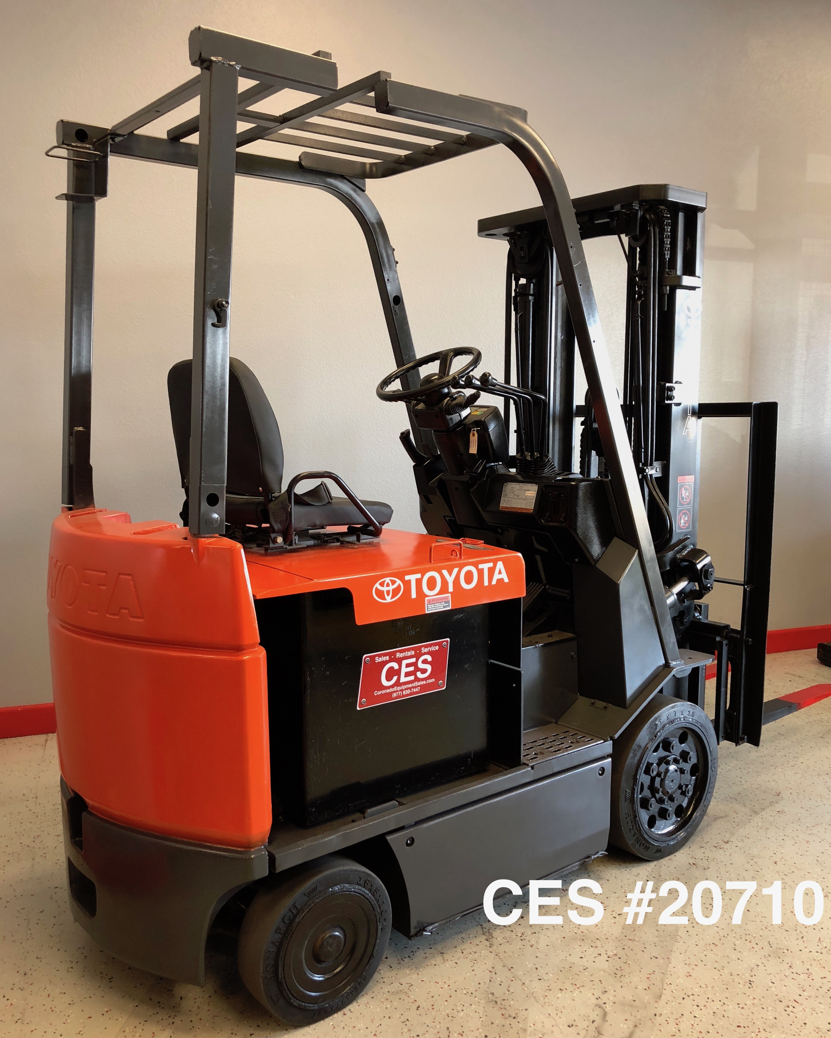 ces 20710 toyota 7fbcu25 electric forklift coronado equipment sales rh coronadoequipmentsales com Toyota Forklift Model 7FGCU25 Manual toyota forklift model 7fgcu25 manual