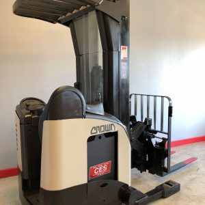 Crown RR5020-45 Reach Forklift 240""