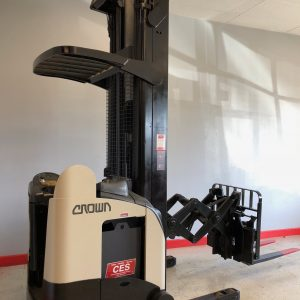 Crown RD5020-30 Deep Reach Electric Forklift 300""