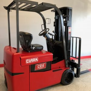 Clark TMX25 3 Wheel Electric Forklift