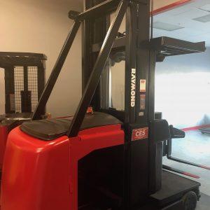 """Raymond SA-CSR30T Turrett Man Up Forklift 297"""""""