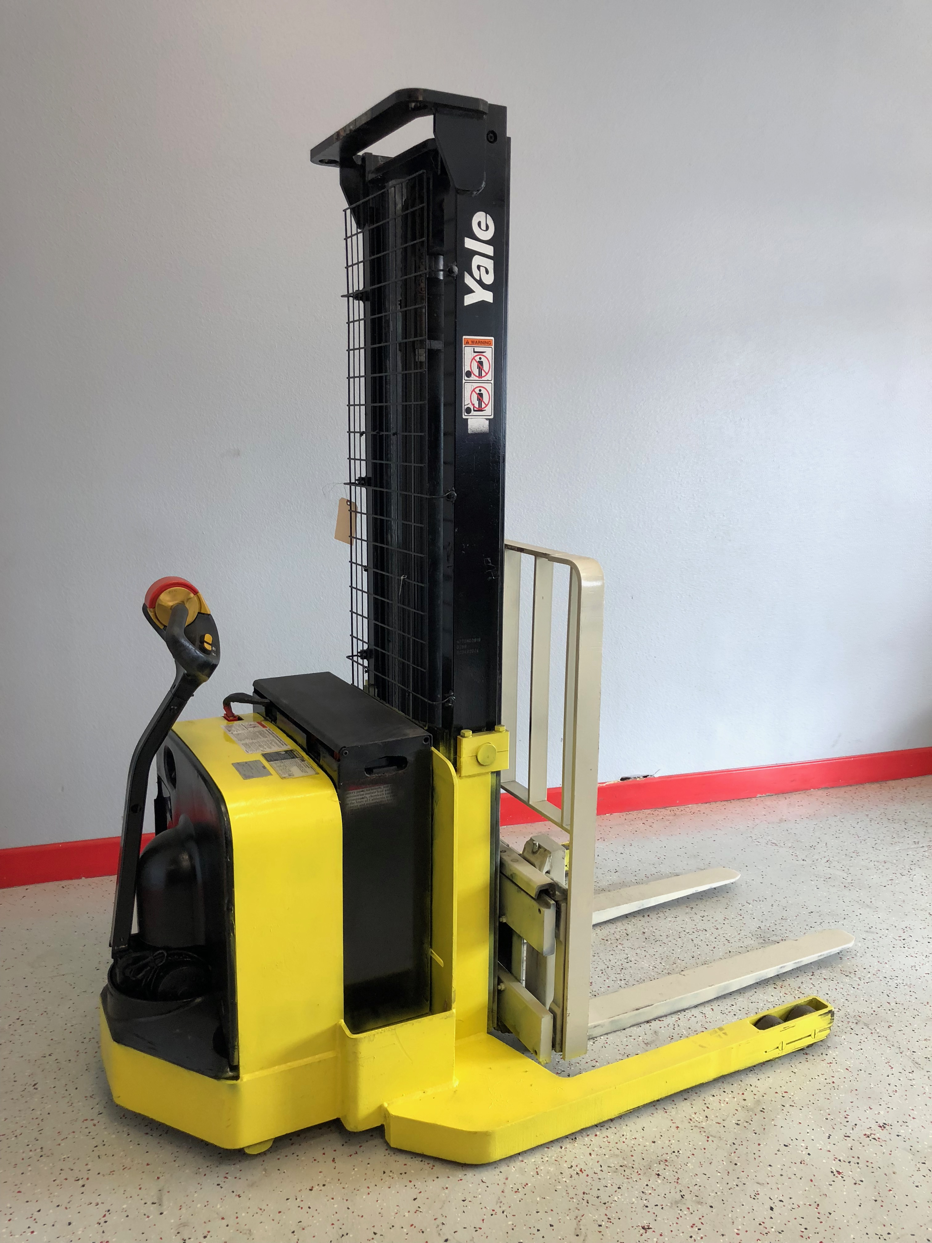 Ces 20809 Yale Msw040 Walkie Stacker Forklift