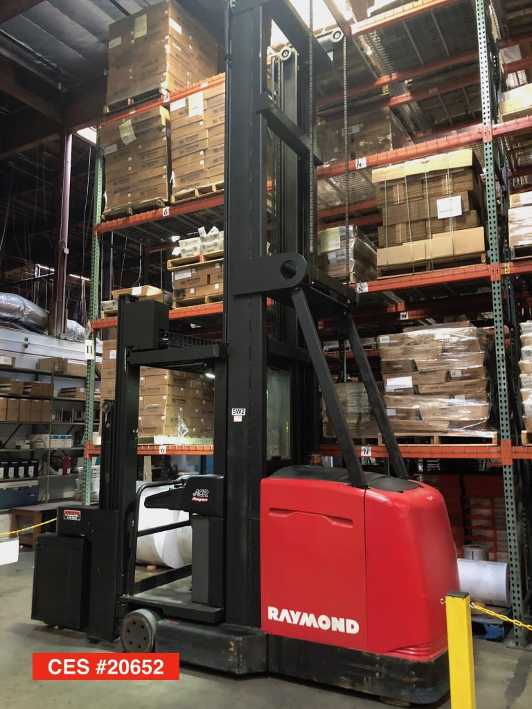 Ces 20652 Raymond 970 Csr30t Turret Man Up Forklift 426