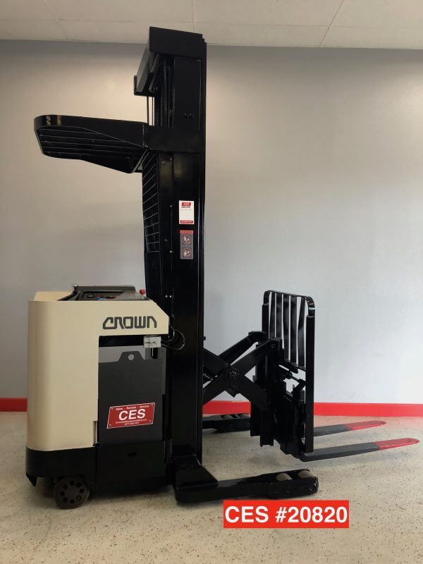 Narrow Aisle Stand Up Reach Forklift