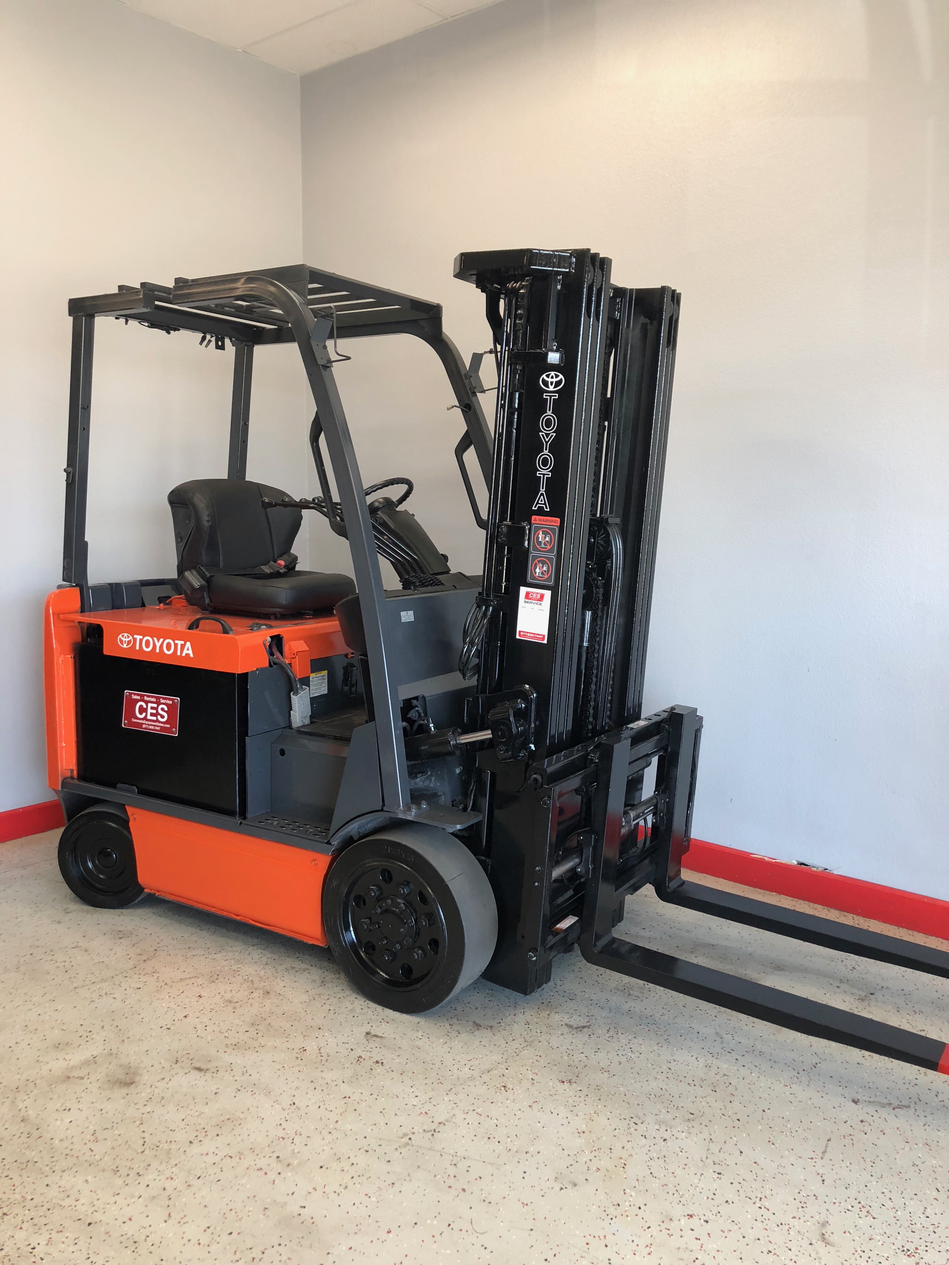 Toyota forklift servicemanual 7fbcu25