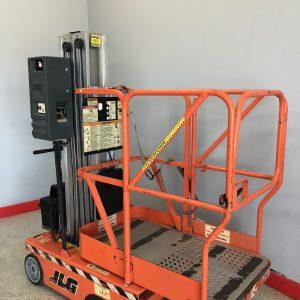 CES #20834 JLG 12SP Single Man Stock Picker / Scissor Lift