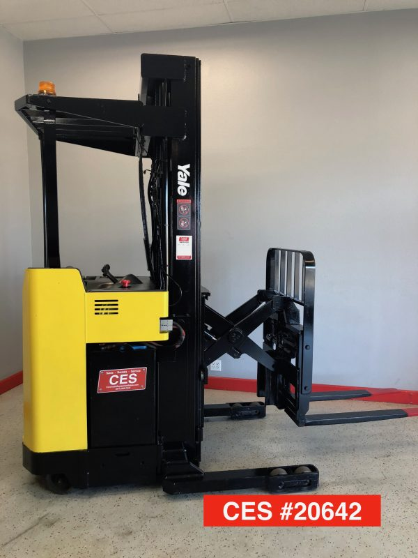 used yale reach truck electric forklifts riverside ca