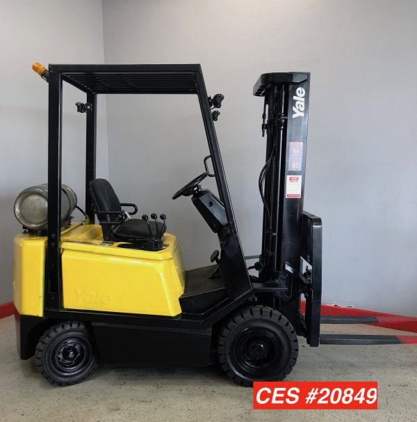 yale glp030 pneumatic forklifts used city of industry