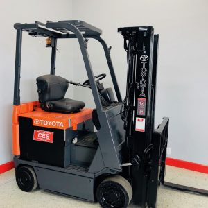 Used Toyota Electric Sitdown Forklift in California 7FBCU18 city of industry ca