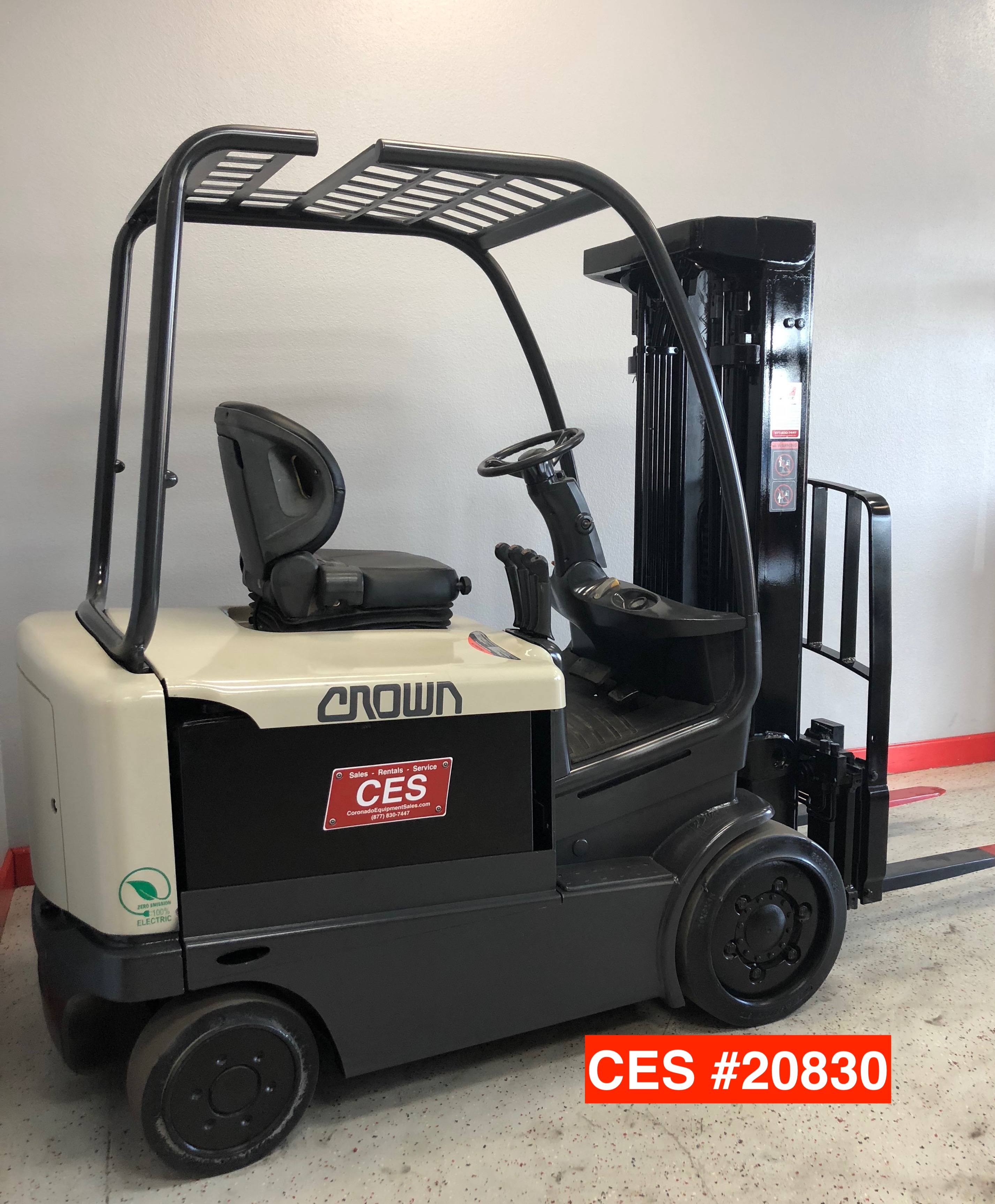 Used Electric Forklift Ces 20830 Crown Fc4040 50