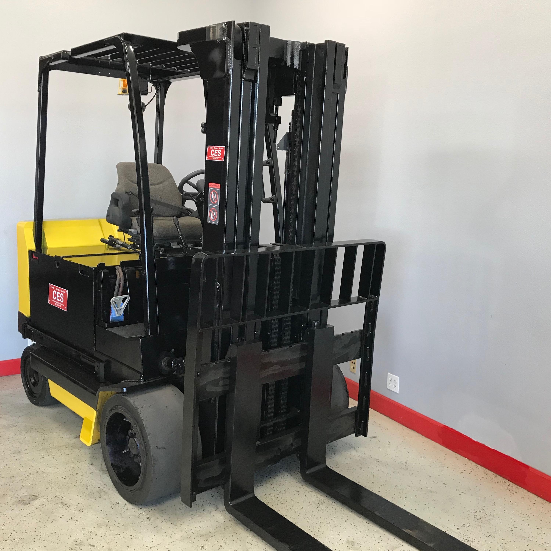 Ces 20907 Yale Erc100 Electric Forklift Coronado