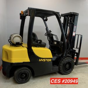 Hyster H50ft Pneumatic Forklift Used Sitdown With Propane