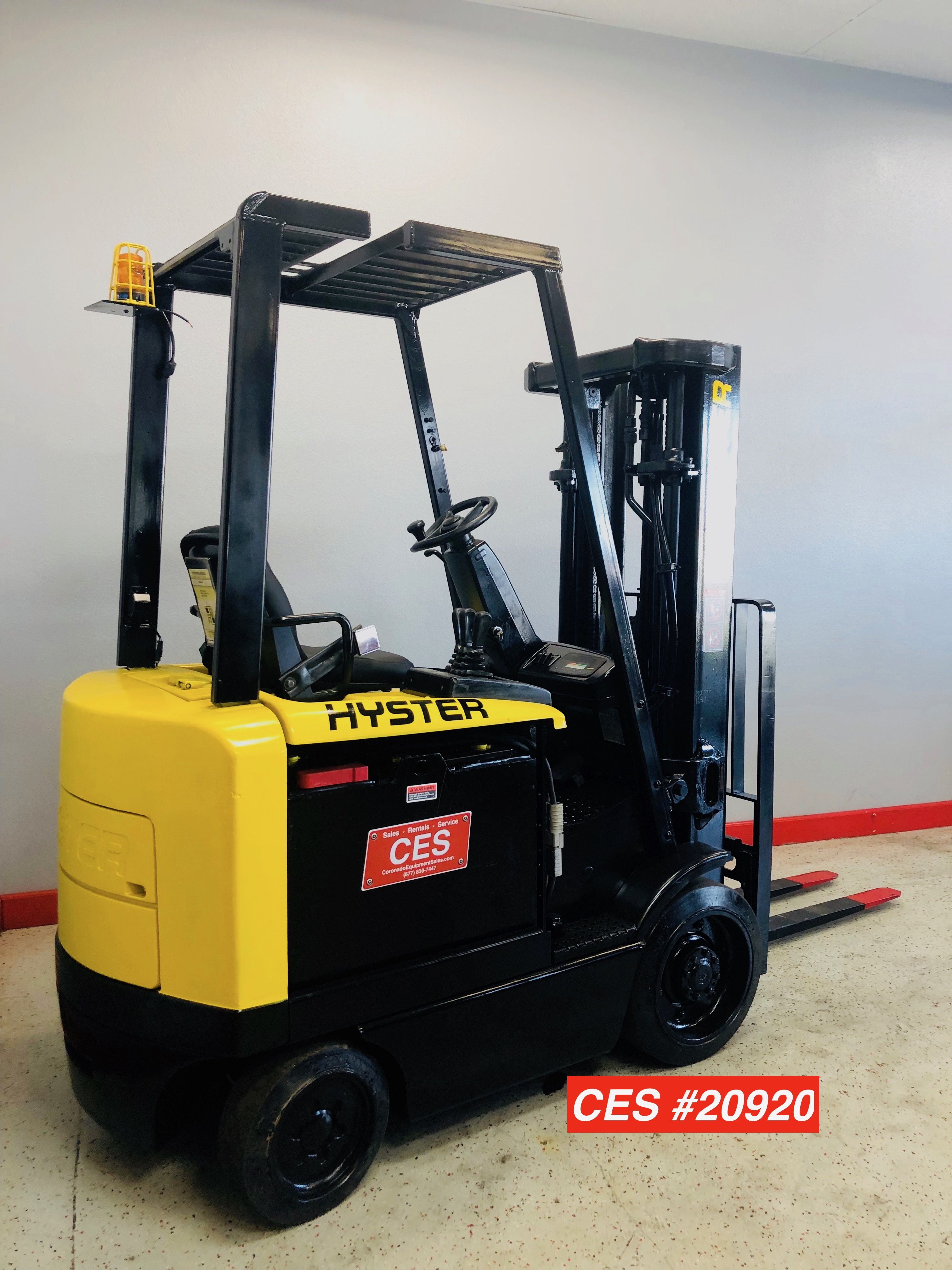 Ces 20920 Hyster E50z 27 Electric Forklift Coronado