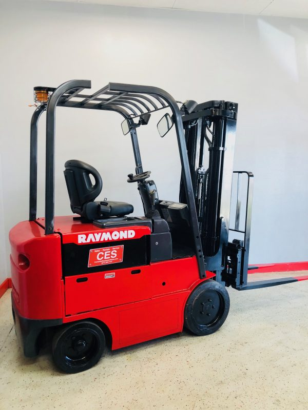 forklift for sale - CES #20996 Raymond 47-C50HM Electric Forklift Orig