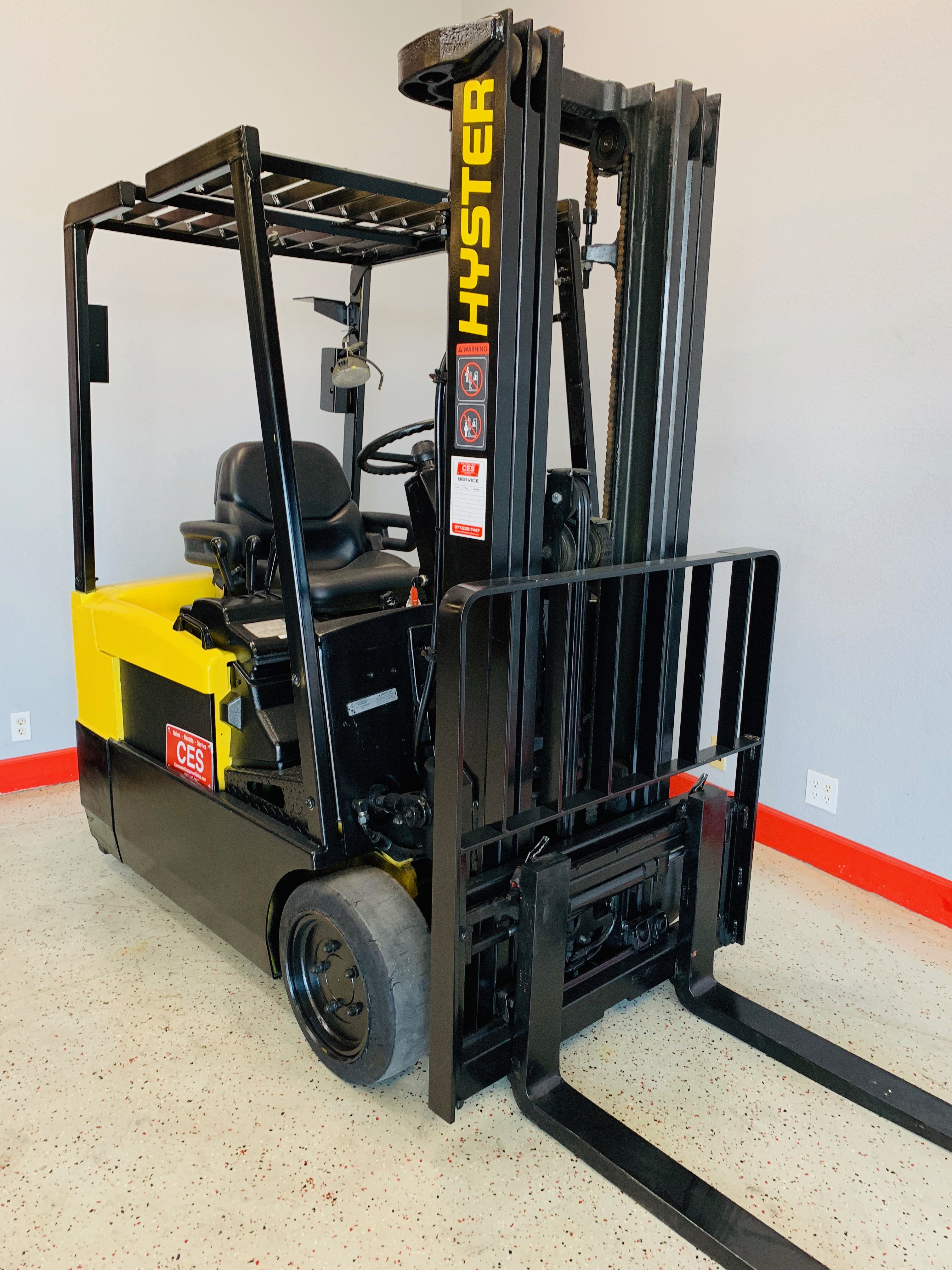 Ces 20801 Hyster J30xmt2 3 Wheeler Electric Forklift