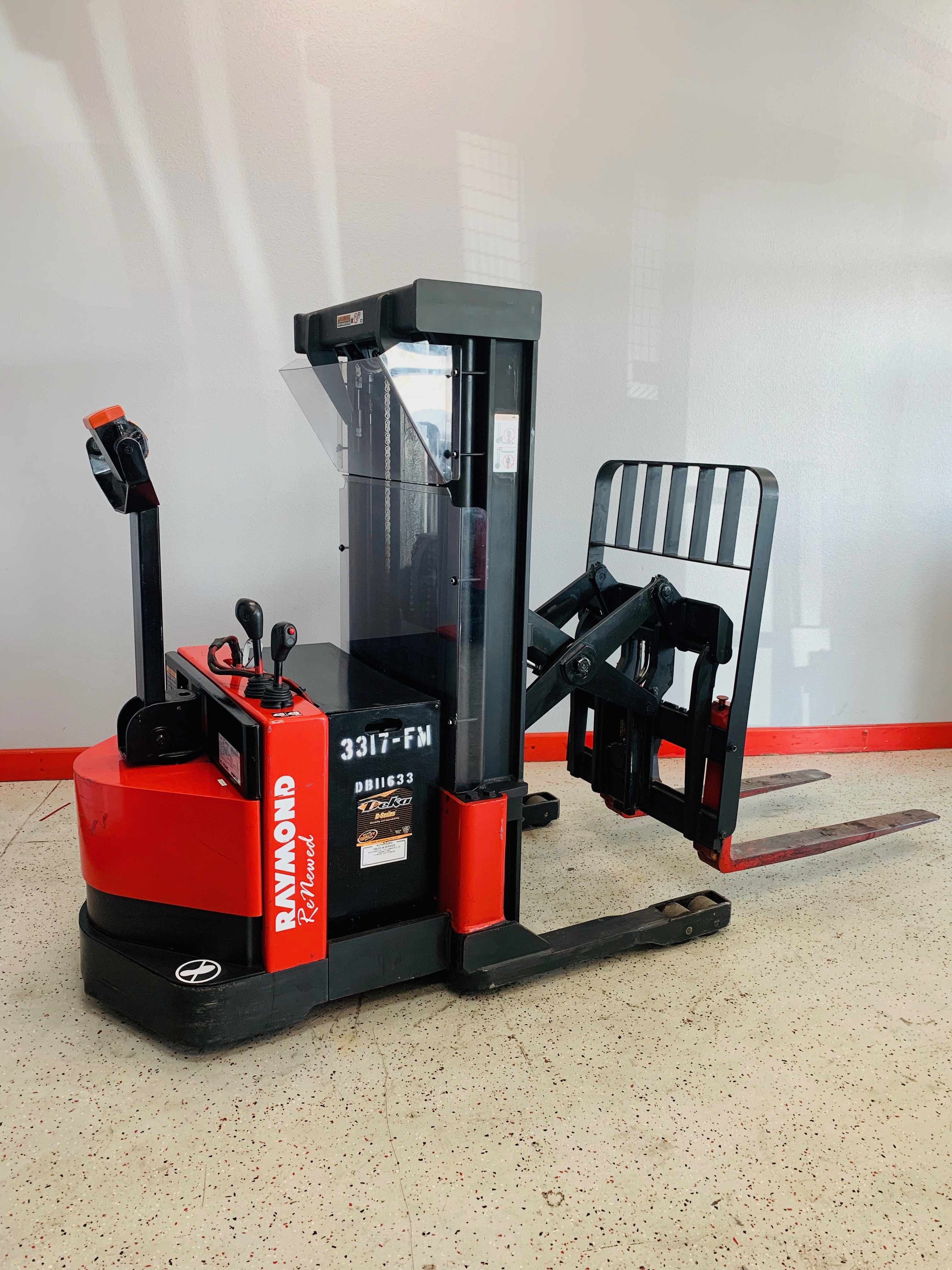 Ces 21071 Raymond Rrs30 Walkie Stacker Reach Forklift