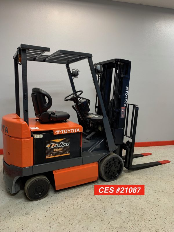 Reconditioned Electric Toyota Forklift