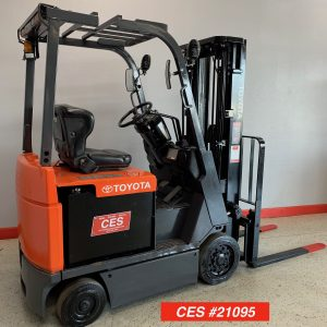 Toyota Electric Forklift Reconditioned