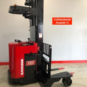 Reconditioned 4 Directional Forklift