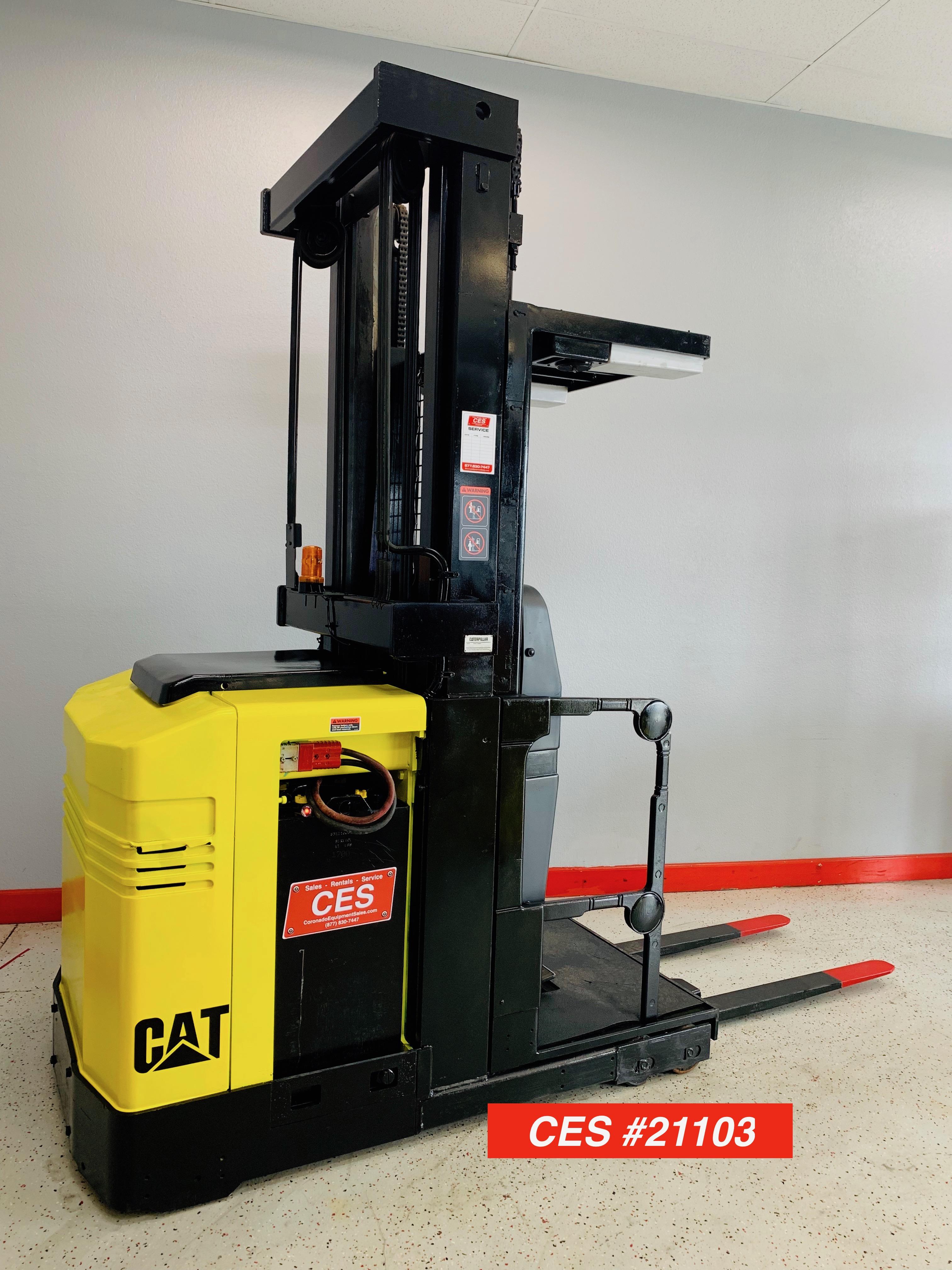 CES #21103 Cat NOR30 Electric Order Picker Forklift