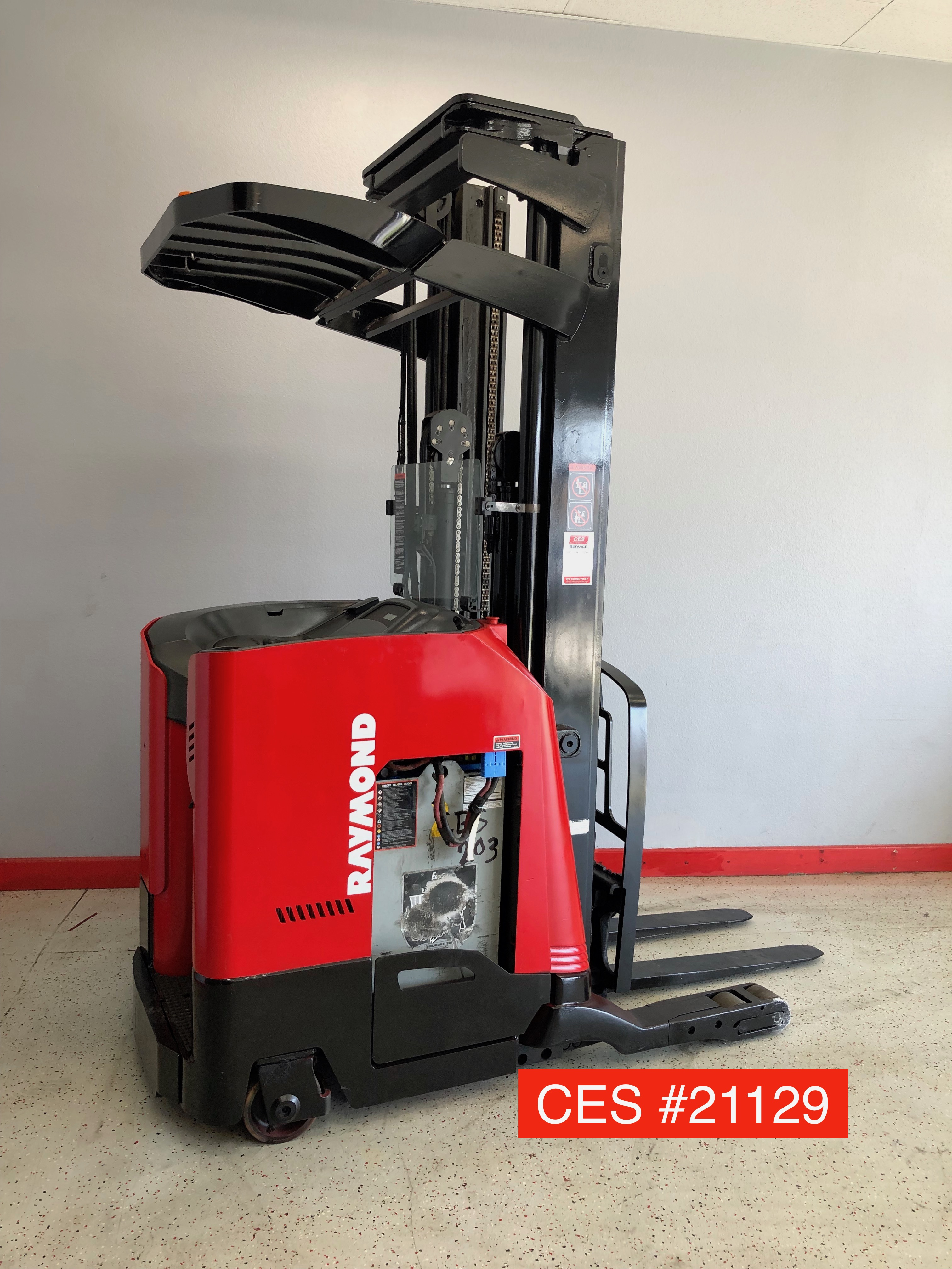 Used Forklifts Ces 21076 Raymond R35tt Reach Forklift